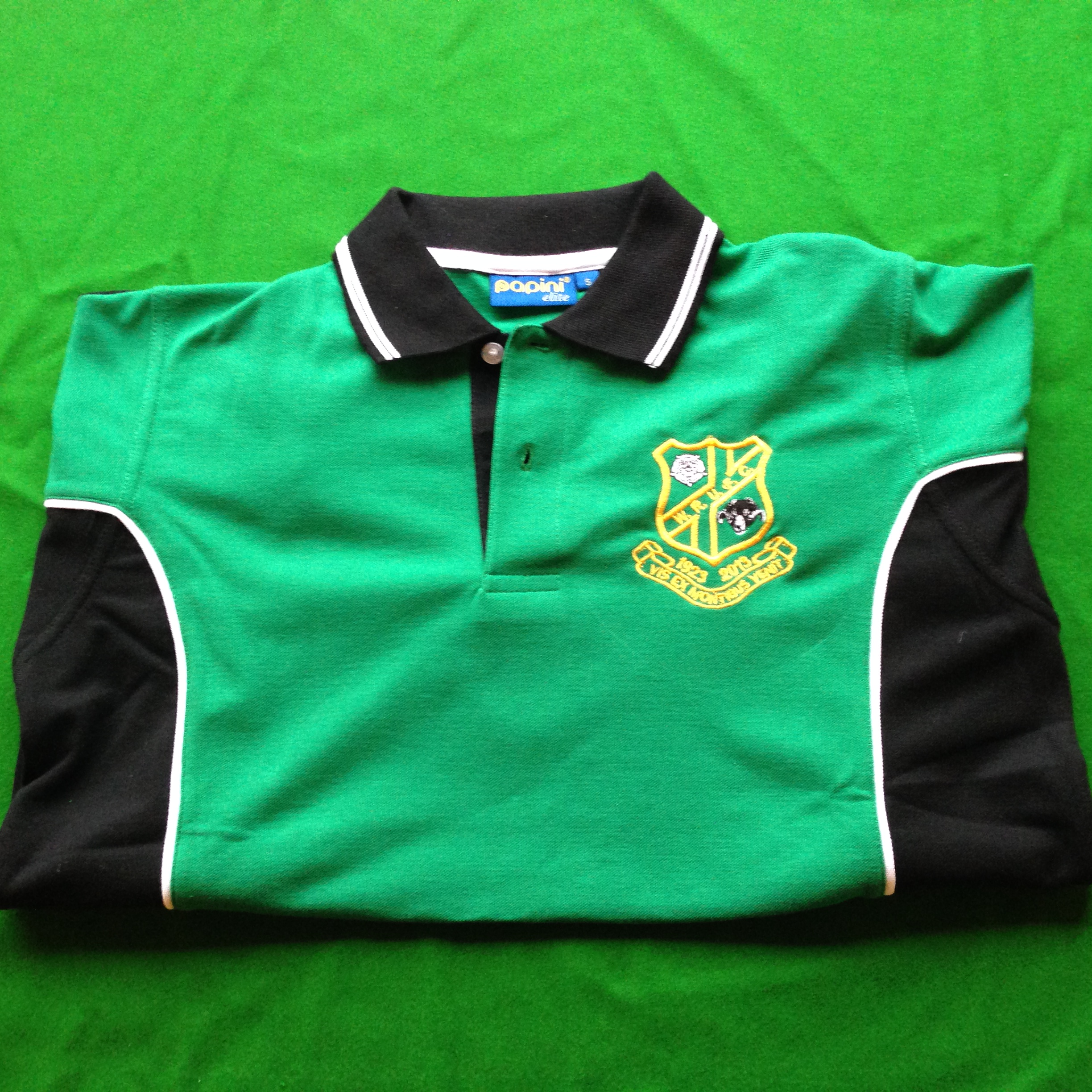90th Anniversary Polo Adult £20 Kids £12.50 various colours
