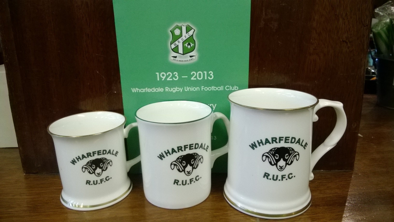 90th Anniversary Bone China Mug £8 Tankard £15
