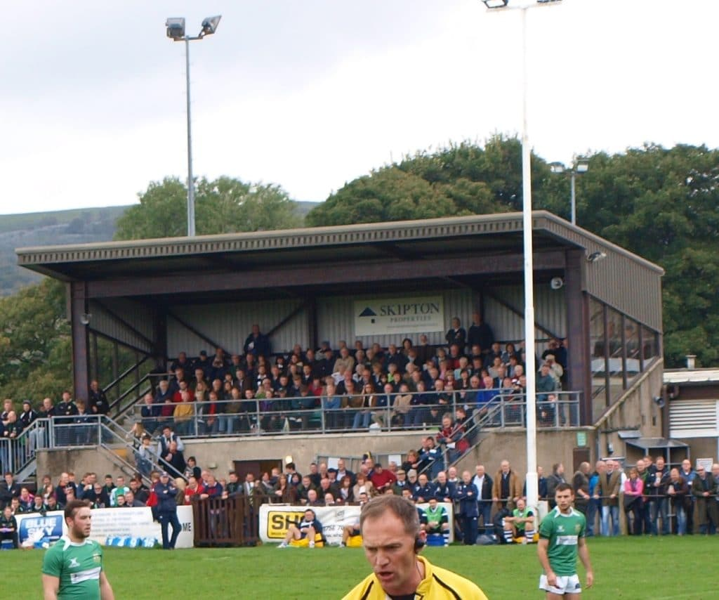 The Main Stand on Match Day